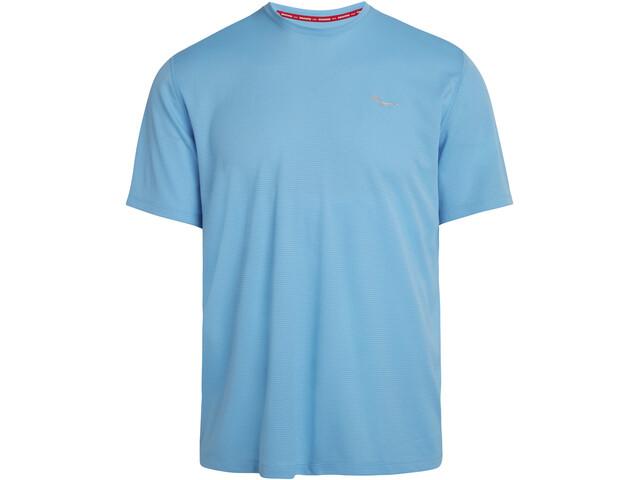 saucony Stopwatch Short Sleeve Men, blauw